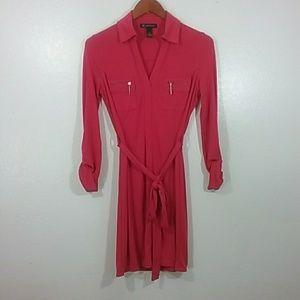 Petite long sleeve dress